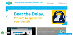 National Social Security and Insurance Trust (NASSIT) - Website Design, Hosting and Corporate Email System